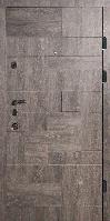 Входные двери серый дуб  К-4