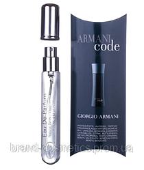 Мужской мини парфюм Giorgio Armani Code, 20 мл