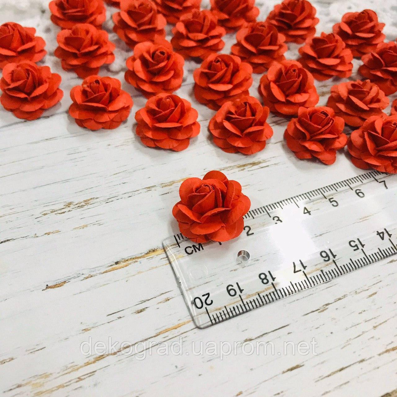 Роза красная ДГ 20-25 мм