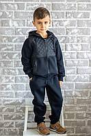 Спортивный костюм для мальчика Chirks SK0008116 116 см Темно-синий