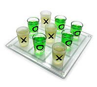 Алкогольная игра крестики - нолики №088м 22х22 см