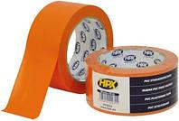 Малярная лента ПВХ HPX 50 мм х 33 м оранжевая PT5033