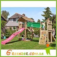 Игровые комплексы для детей с Домиком и Мостом