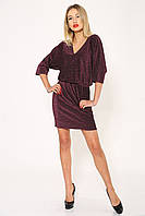 Платье женское 115R169 цвет Бордовый