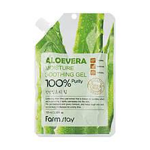 Универсальный гель Алоэ FarmStay Aloevera Moisture Soothing Gel,100ml