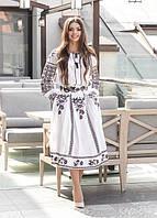 Жіночий вишитий костюм Неповторність білий