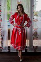 Жіночий вишитий костюм Неповторність червоний