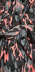 2-х нитка камуфляж (Рожевий)