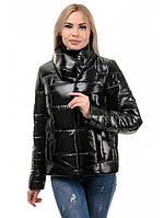 Укороченная женская куртка весна осень размер 42-48