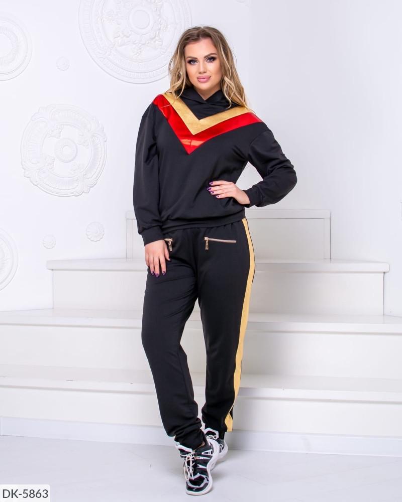Спортивный костюм женский весенний батал 50 52 54 размер Новинка есть цвета
