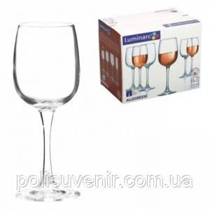 Набір келихів для вина 230 мл Аллегресс 6шт