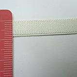 Резинка бретелечная, 8 мм ширина. Цвет белый., фото 2