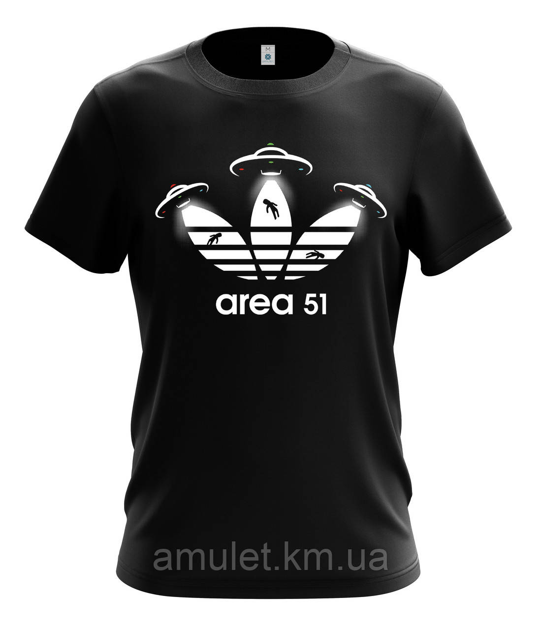 "Футболка мужская  с рисунком ""Area 51"""