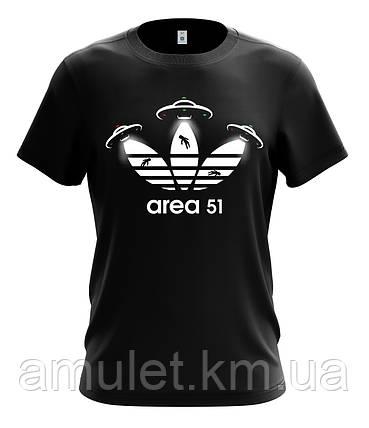 "Футболка мужская  с рисунком ""Area 51"", фото 2"