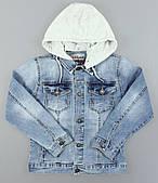 Джинсовая куртка для мальчиков S&D оптом, 4-12 лет. Артикул: DT1169