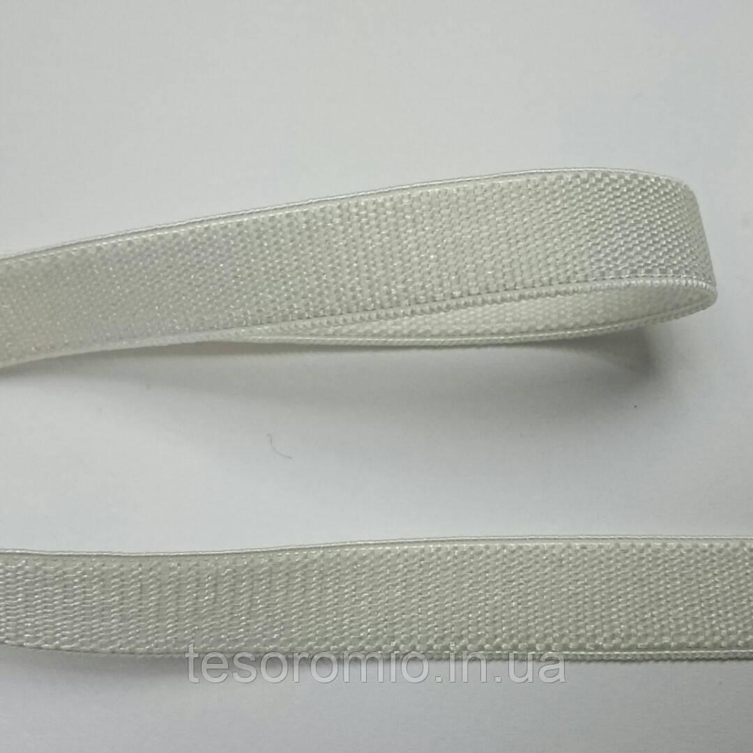 Резинка бретелечная, 8 мм ширина. Цвет белый.