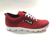Кроссовки мужские Fila лето дышащая сетка и замш на шнурках 39-45 размер