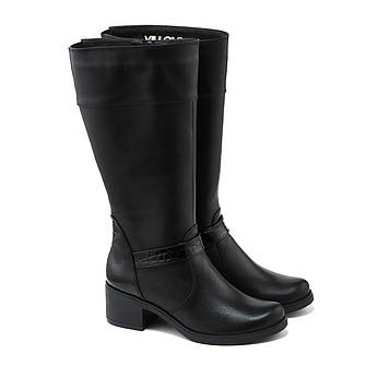 VM-Villomi Зимние не высокие сапоги на каблуке