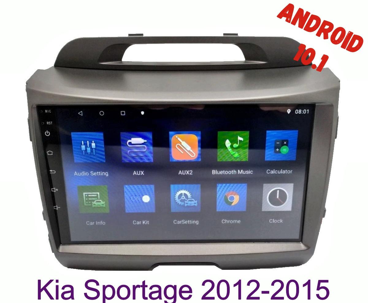 Автомагнитола штатная Kia Sportage 2012-2015 Android 10.1 CPU T3 4/32 Gb