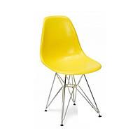 Стул Тауэр хром, желтый (Прайз), Eames