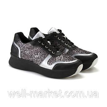 VM-Villomi Блестящие кроссовки на высокой подошве