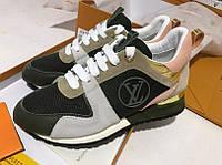 Шикарные женские кроссовки Louis Vuitton реплика в премиум качестве
