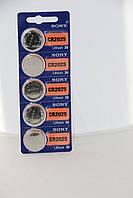 Часовая батарейка Sony CR2025