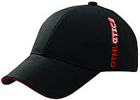 Бейсболка вышивка ATHLETIC (красный) черный