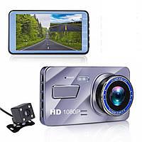 Видеорегистратор FULL HD 1080P с камерой заднего вида Inspire