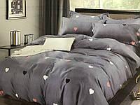 Полуторный комплект постельного белья (150 х 200) см Сердечка