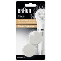 Сменная губка для макияжа braun 80b face 2шт (81497533)