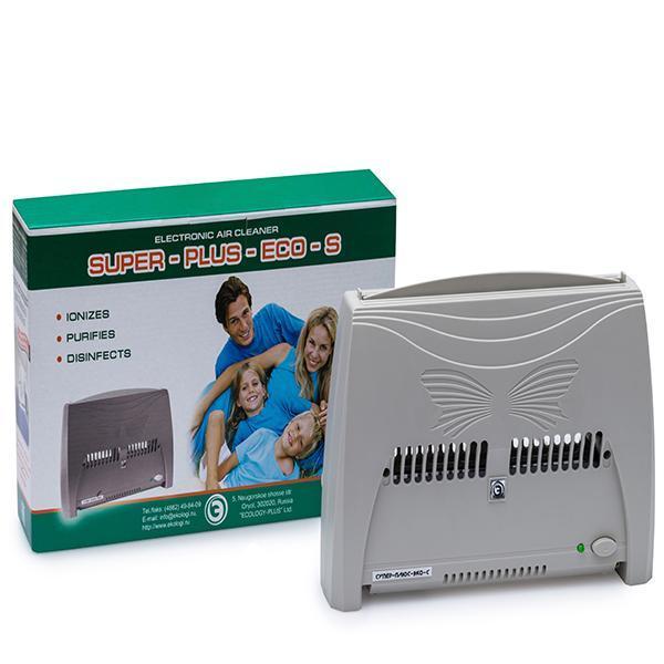 Очиститель ионизатор воздуха Zenet Супер Плюс ЭКО-С Серый (hub_MhfA35716)