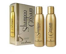 Набір для волосся з екстрактом льону Kleral System Semi Di Lino