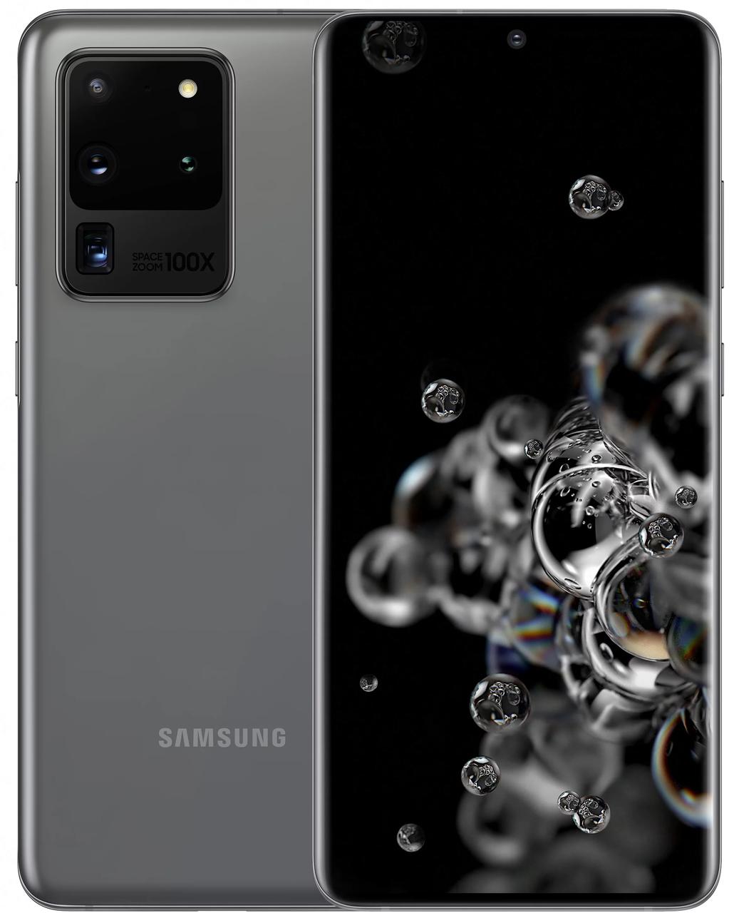 Смартфон Samsung Galaxy S20 Ultra 2020 G988B 12/128Gb Cosmic Gray (SM-G988BZADSEK) UA