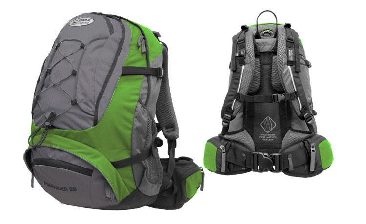 Рюкзак Terra Incognita Freerider 28 Green Grey (TI-01435)