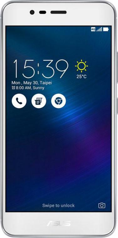 Asus Zenfone 3 Max 2/16GB 2SIM ZC520TL Silver (STD02457)Нет в наличии