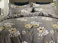 Полуторный комплект постельного белья (150 х 200) см Букеты