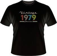 """Футболка """"Vintage Classic"""" з роком народження"""