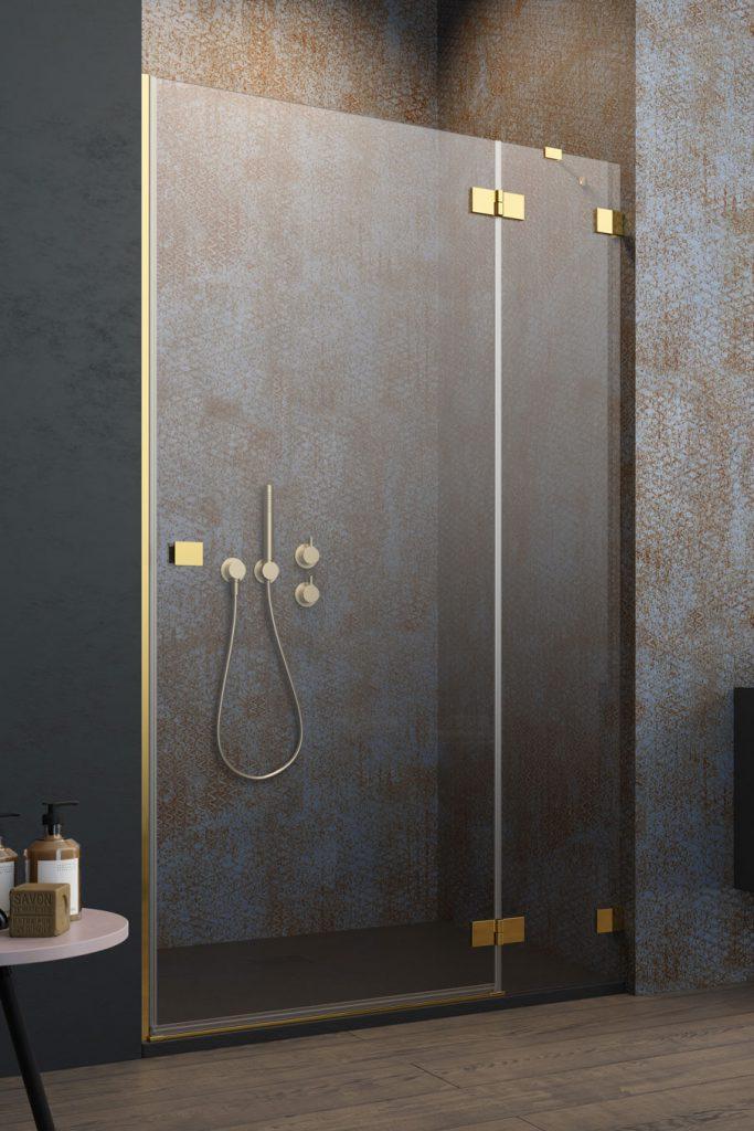 Душові двері Radaway Essenza Pro Gold DWJ 🇵🇱