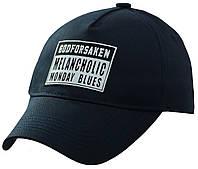 Бейсболка лейба MELANCHOLIC (мат) темно-синий