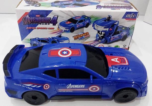 """Машинка трансформер """"Avengers"""" 18 см, фото 2"""
