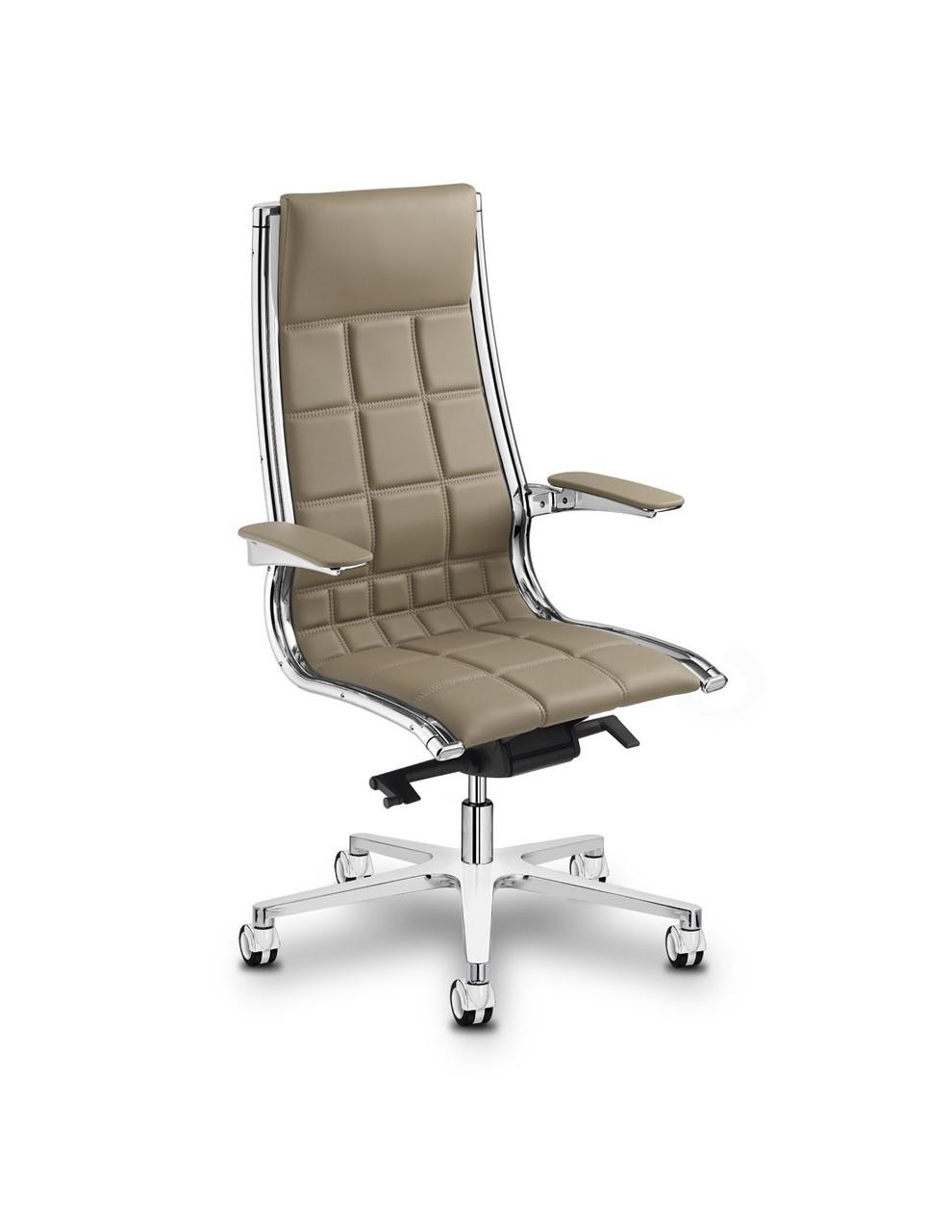 Кресло Sit on it 2 для руководителя кожаное