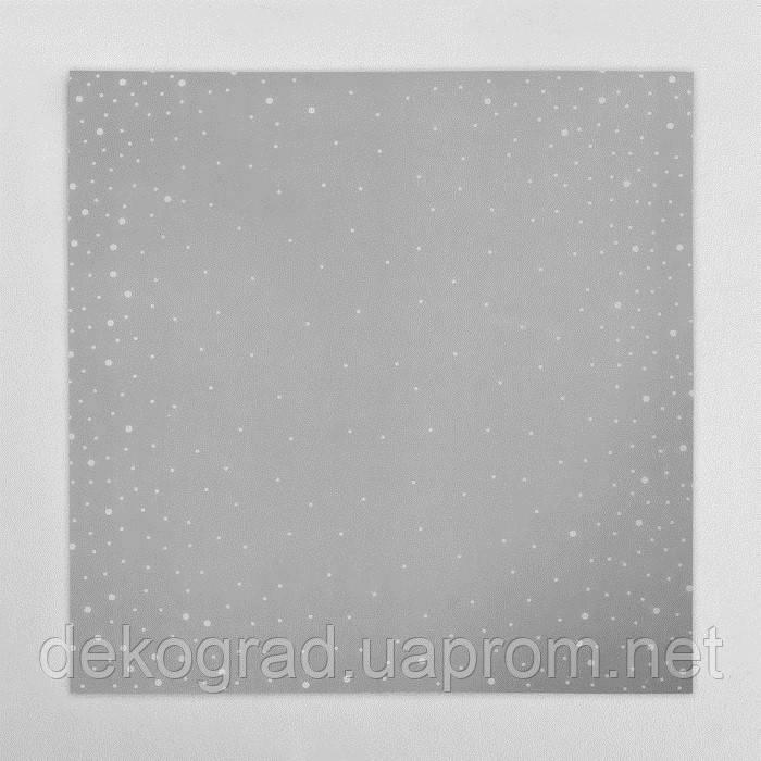 Калька декоративная «Снег» 30,5 х 30,5 см