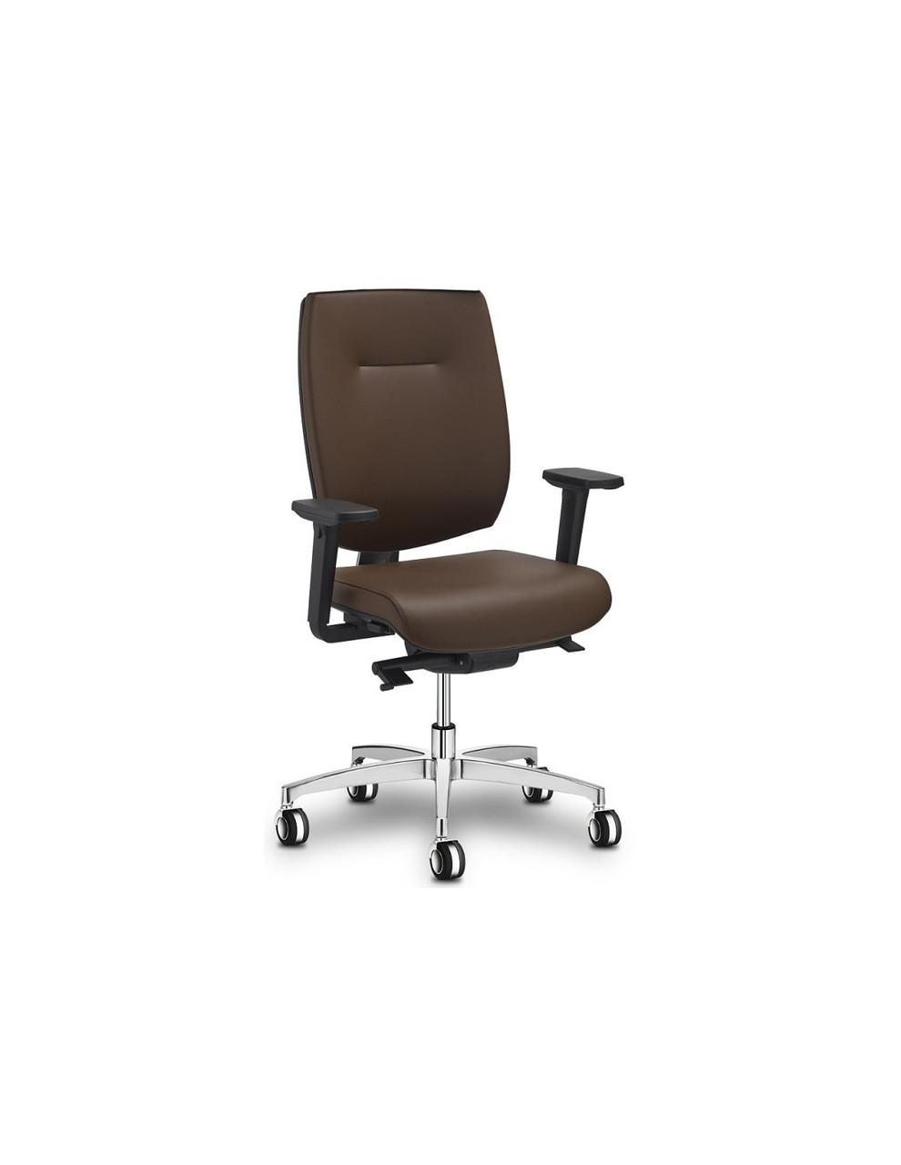 Кресло Fresh, для руководителя, кожаное