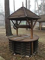 Колодец деревянный (сруб)