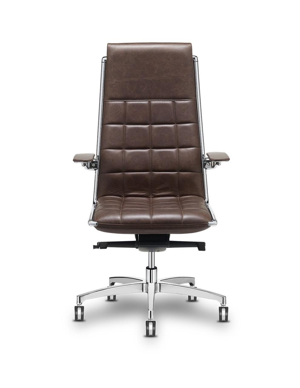 Кресло Vega hit для руководителя, кожаное