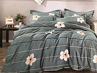 Полуторный комплект постельного белья (150 х 200) см Ромашки