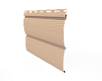 Сайдинг вініловий, тип блокхаус (виробник - Ю-Пласт)