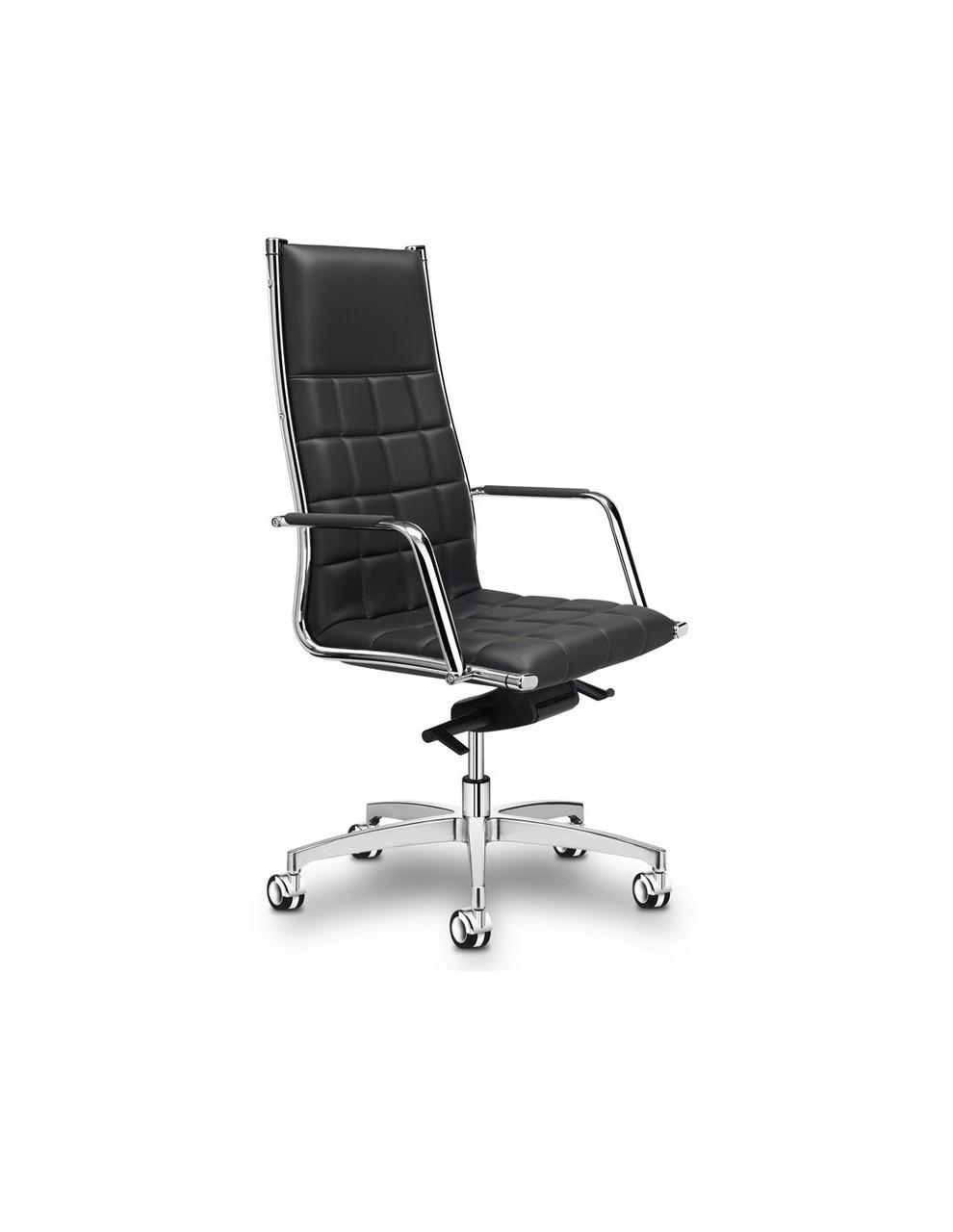 Крісло Vega S для керівника, шкіряне