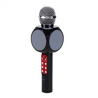 Беспроводной караоке микрофон с динамиком и цветомузыкой Wster WS-1816